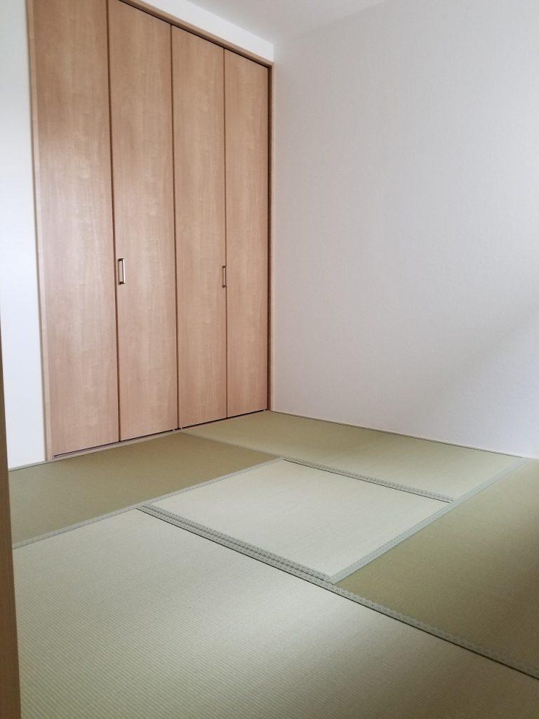 和室が一部屋あることで、ほっとした気持ちになれます♪