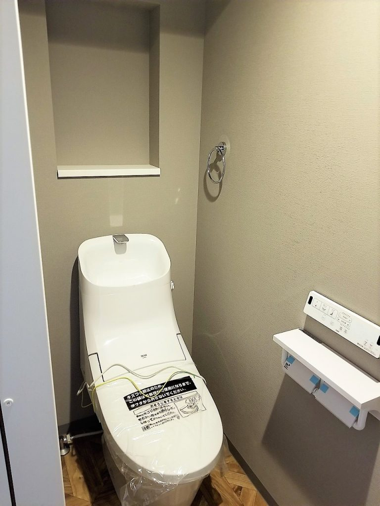 1階・2階にトイレを設置、非常に便利です。