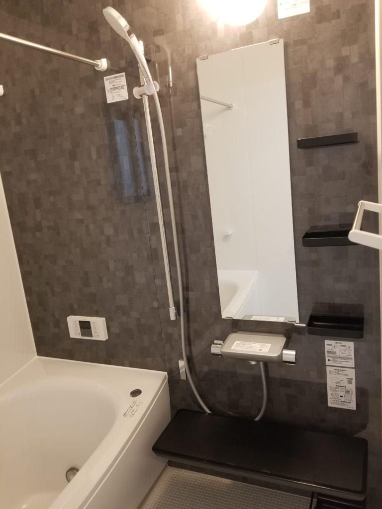 浴室乾燥・追い炊き機能付き浴室